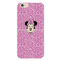 Cover iPhone 5S Transparent Mickey Mouse pink