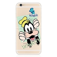Cover iPhone 5S transparent  howdy