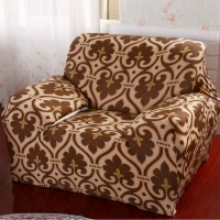 Sofa cover  beautifully designed and beige color