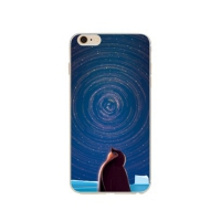Cover Iphone 6 6s solid plastic distinct The galaxy
