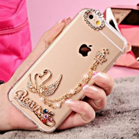 Cover Iphone 6 6S plastic Transparent Goose
