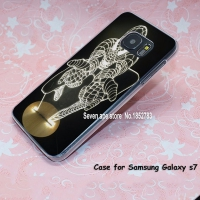 Cover Samsung s7 plastic Black Ironman