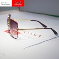 VIVI VISION sunglasses For Women (Wine red)