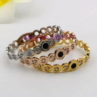 Bracelets stainless steel Romania numbers One piece