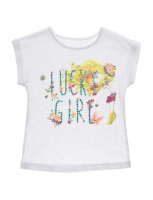 T-Shirt girls aged 2 to 7 years