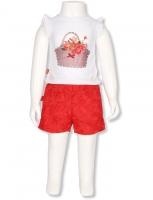Sete Girlie Tshirt + shorts