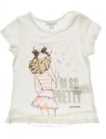 T-shirt, children's distinctive girlish