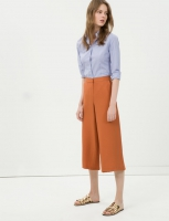 Women's trousers orange  color