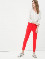 Trousers women red