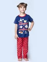 Pajama girlie aged 3 to 8 years