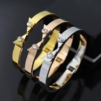 Bracelet stainless steel - anime punk rock One piece