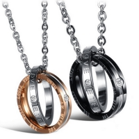 Necklace Episode simple for lovers - When I'm with you the world looks wonderful
