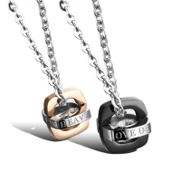 Necklace lovers (love deeply in heaven)