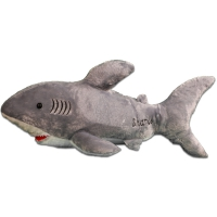 doll cotton in the form of a shark