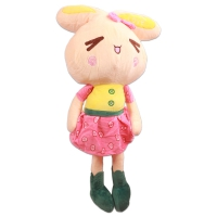 Doll cotton in the form of a rabbit ,80 cm