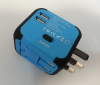 TRAVEL ADAPTER WITH USB ALL - IN - ONE