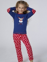 Pajama girlie from the ages of one to eight years