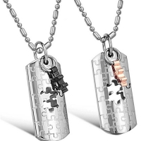 Couple Necklace - Meccano