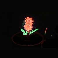 Night lighting quiet - 2 flower