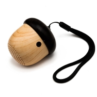 Small wooden subwoofer sound