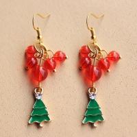 Earrings Christmas tree