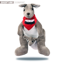 Teddy cotton in the form of kangaroo