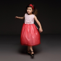 girlish dress from 3-12 years