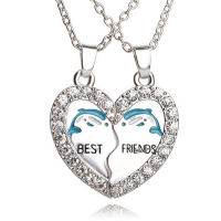 Distinctive necklace for friends - Dolphin