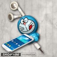 headphones Doraemon phone