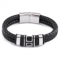 Bracelet Mens Leather