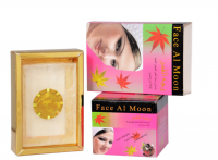 moon face cream and soap