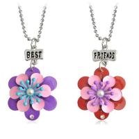 Best Friend Necklace - Flowers