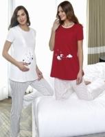 Pajama pregnant women Pierre Cardin brand