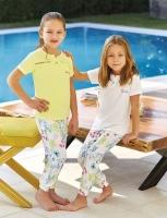 Pajama children aged 8 to 16 years