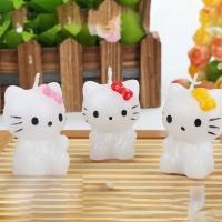 Small Candles - Hello Kitty -  2pcs