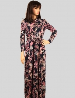 Women  s dress with distinctive pattern