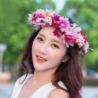 Elegant Flower Crown Set