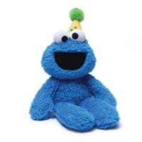 SESAME STREET  happy birthday joyeux anniiversaire cookie monster take along buddy