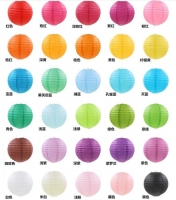 Decorative balls with beautiful colors size 40 cm