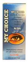 my choice multi purpose solution for soft contact lenses