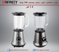 Blinder Stainless Steel -  Industrial  - Glass 700 W   1.5L