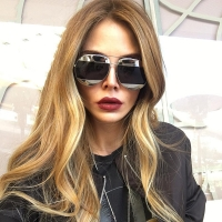 Elegant Round Sunglasses For Women