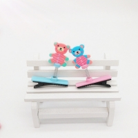 Bear hair clip -  2pcs
