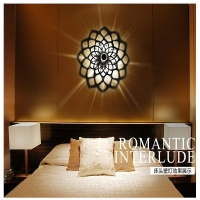 Wall lighting - Interlocking decoration