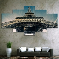 Panel sequential Eiffel tower 5pcs