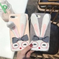 Cover Phone plastic girlie rabbit characteristically (for iphone7,8,7plus,8plus)