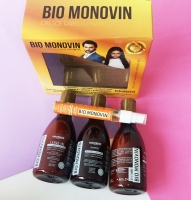Bio Monovin,Goodbye to baldness and to stop falling Hair ,and Hair growth,  Brazilian natural Amazon forest products
