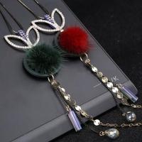 Long distinctive necklace