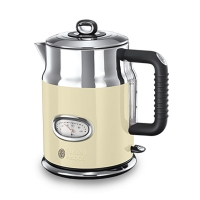 Electric water kettle with thermometer