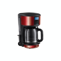 The maker is a red 1.25 liter digital glass of Russell Hobbs